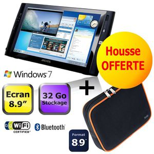 TABLETTE TACTILE Archos 9 Wifi 32 Go + Housse Nbag 8.9""