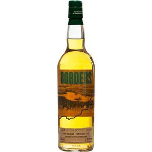 WHISKY BOURBON SCOTCH Whisky BORDERS Single Grain - 70 cl - 51,7 °