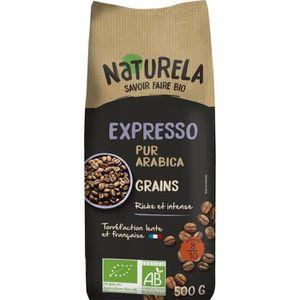 CAFÉ NATURELA Café en grain - Spécial Expresso - BIO -
