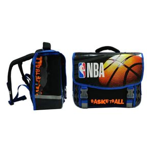 CARTABLE NBA Cartable - 2 Compartiments - Primaire / Collèg