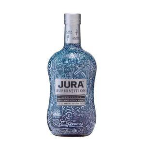 WHISKY BOURBON SCOTCH Jura Superstition Shrink Wrap - Single Malt Scotch