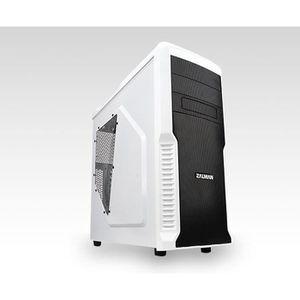 BOITIER PC  Zalman Z3 PLUS Blanc USB3.0