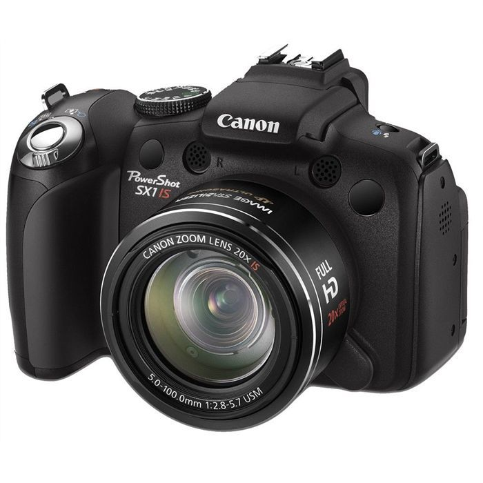 canon powershot sx1 is achat vente appareil photo. Black Bedroom Furniture Sets. Home Design Ideas