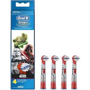 BROSSETTE Oral-B Stages Power 4 brossettes de rechange pour