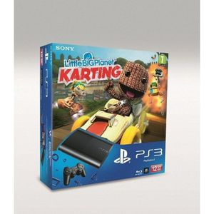 CONSOLE PS3 PACK PS3 12 GO LITTLE BIG PLANET KARTING