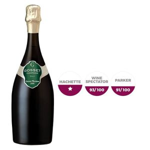 CHAMPAGNE Gosset Gd Mill.  2006 Champagne x6