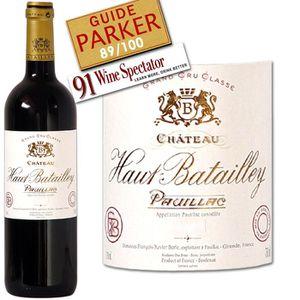 VIN ROUGE Château Haut Batailley 2006 Pauillac - Vin rouge d