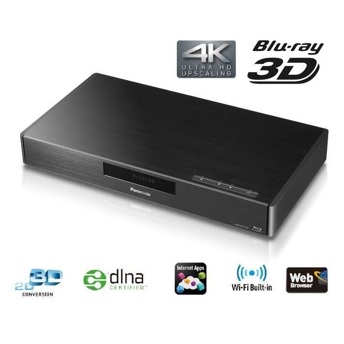 destockage panasonic dmp bdt700 platine lecteur blu ray 3d 4k audio hifiste lecteur blu ray au. Black Bedroom Furniture Sets. Home Design Ideas