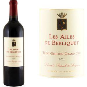 VIN ROUGE Les Ailes de Berliquet Grand Cru Second Vin de Châ