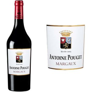 VIN ROUGE Antoine Pouget Margaux Second Vin 2012 - Vin rouge