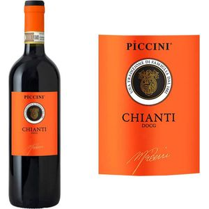 VIN ROUGE Piccini Chianti - Vin rouge d'Italie