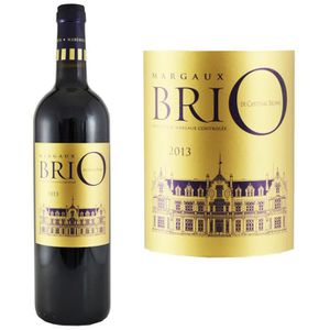 VIN ROUGE Brio de Cantenac Brown Margaux 2013 - Second Vin d