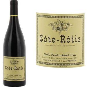 VIN ROUGE Domaine Gisele Vernay 2014 Côte Rôtie Vin Rouge de