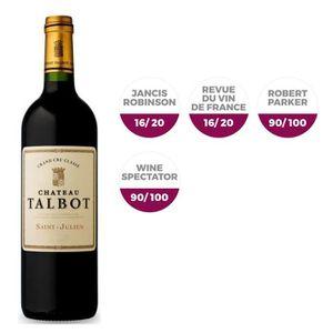 VIN ROUGE Château Talbot Saint Julien 2014 - Vin rouge x1