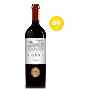 VIN ROUGE Château Drouet 2018 Bordeaux - Vin rouge de Bordea