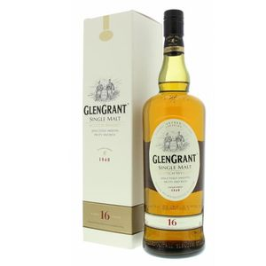 WHISKY BOURBON SCOTCH Glen Grant 16 ans 43° 70cl