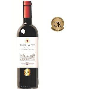 VIN ROUGE Haut Boutet du Château Cantinot 2016 Blaye Côtes d