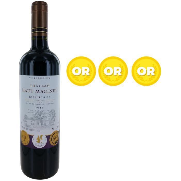 VIN ROUGE Château Haut Maginet 2016 Bordeaux Vin Rouge