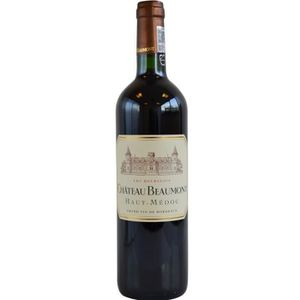 VIN ROUGE Château Beaumont 2017 Haut-Médoc Cru Bourgeois - V