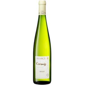 VIN BLANC KOENIG Muscat 2017 Grand Vin d'Alsace Casher - Vin