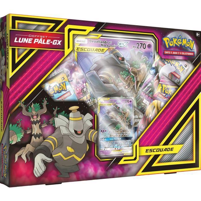 CARTE A COLLECTIONNER POKEMON - Coffret Pokémon LUNE PALE GX - 4 booster