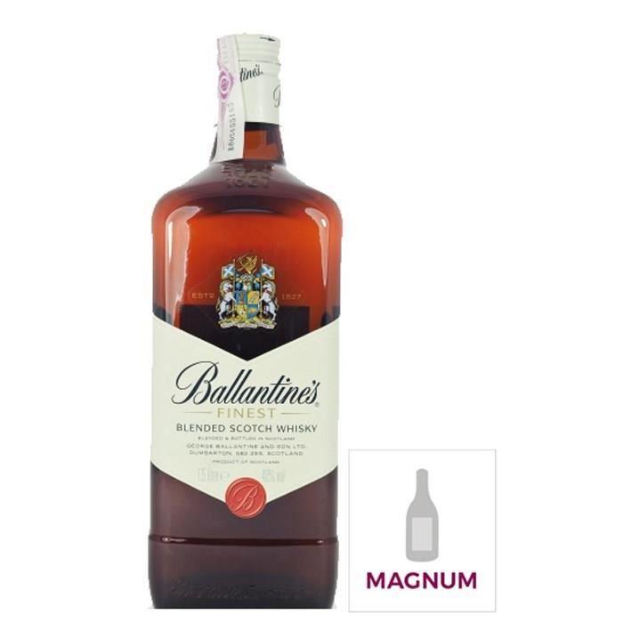 WHISKY BOURBON SCOTCH Whisky Ballantine's Finest - Blended whisky - Ecos