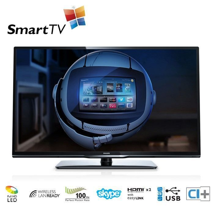Philips 42pfl3208h 12 smart tv led 100hz achat vente philips 42pfl3208h 1 - Cdiscount television led ...