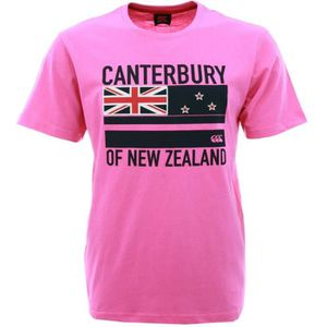 T-SHIRT CANTERBURY T-shirt Flag Rugby Homme