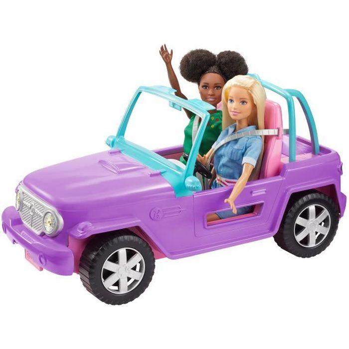 POUPÉE BARBIE Le Buggy de Barbie - GMT46 - Véhicule Poupé