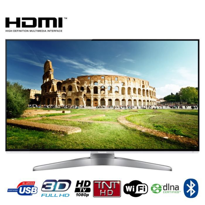 panasonic tx l55wt50e tv 3d 139 cm t l viseur led avis et prix pas cher cdiscount. Black Bedroom Furniture Sets. Home Design Ideas