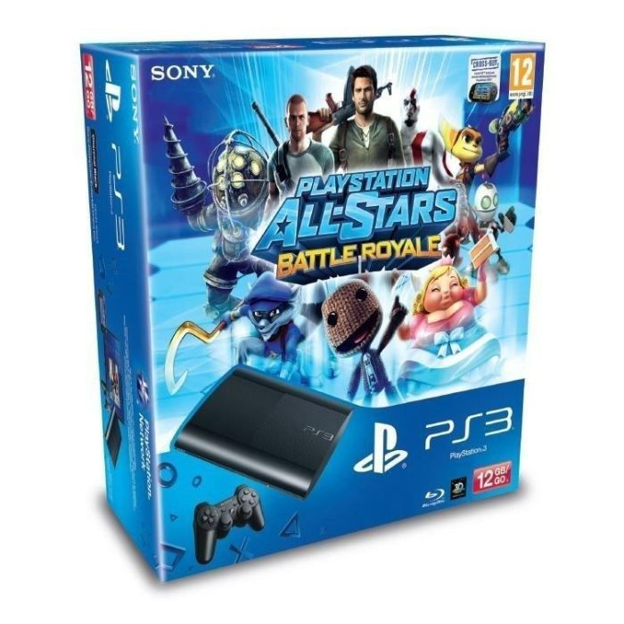 CONSOLE PS3 PACK PS3 12 GO PLAYSTATION