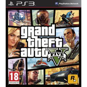 JEU PS3 GTA V / Jeu console PS3