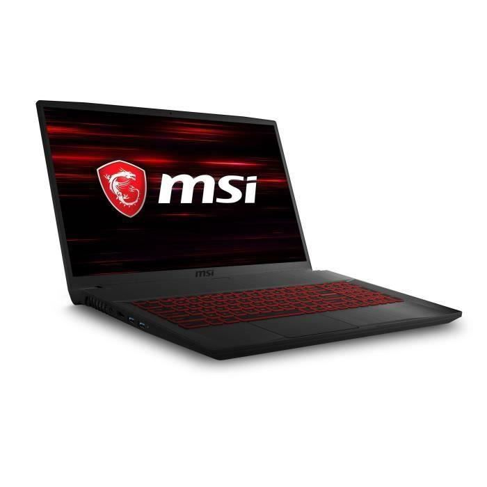 ORDINATEUR PORTABLE PC Portable Gamer - MSI GF75 Thin 9SD-002XFR - 17,
