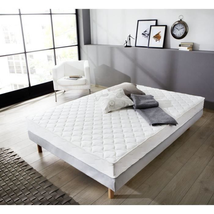 matelas 1 personne 90x190 trendy ensemble literie. Black Bedroom Furniture Sets. Home Design Ideas