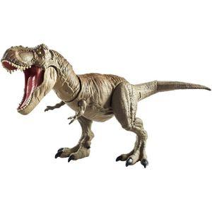 FIGURINE - PERSONNAGE JURASSIC WORLD T-Rex Morsure et Combat - Figurine