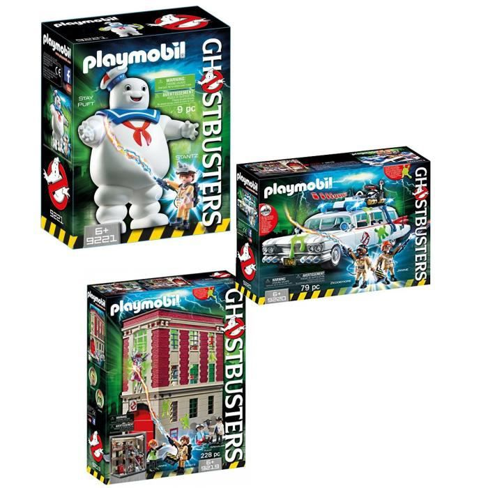 UNIVERS MINIATURE PLAYMOBIL Pack Ghostbusters
