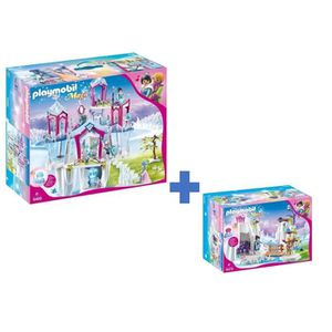 UNIVERS MINIATURE PLAYMOBIL - Pack Le Palais de Cristal - Lot de 2 B