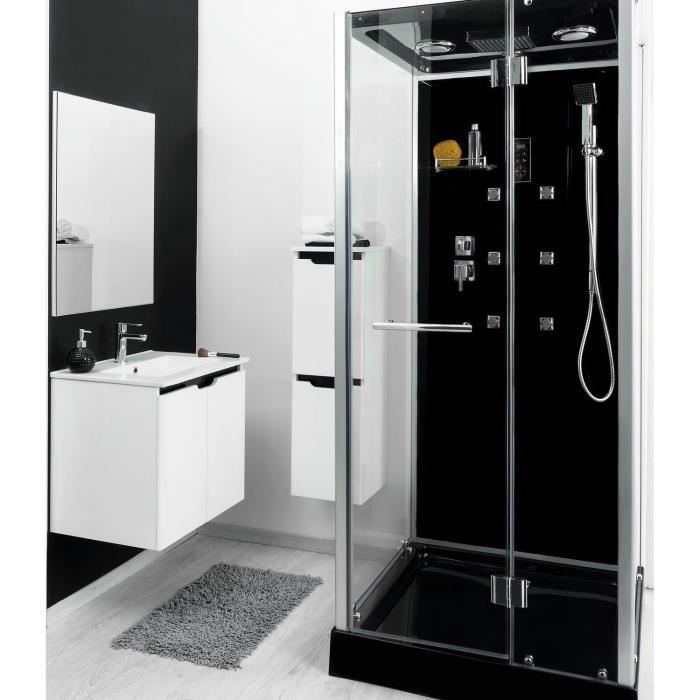 cabine de douche hydromassante ytal 90x90cm achat vente cabine de douche cabine hydro carr e. Black Bedroom Furniture Sets. Home Design Ideas