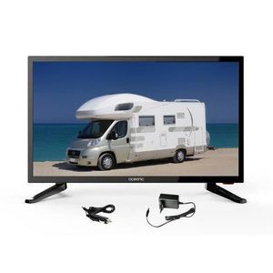 Téléviseur LED OCEANIC TV LED Camping Car HD 48.3cm (19'') 12-24V