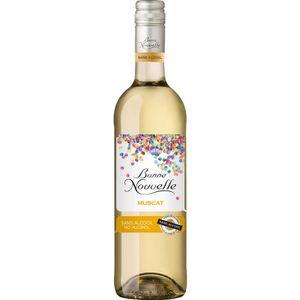Apéritif à base de vin Bonne Nouvelle - Muscat - Blanc - Boisson à Base d
