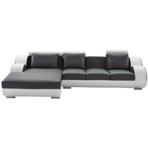 CANAPÉ - SOFA - DIVAN DAMIEN Canapé de relaxation d'angle gauche fixe 6