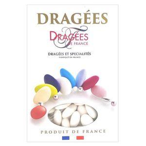 DRAGÉES DRAGEES DE FRANCE Dragées Belle de nuit - Blanc -