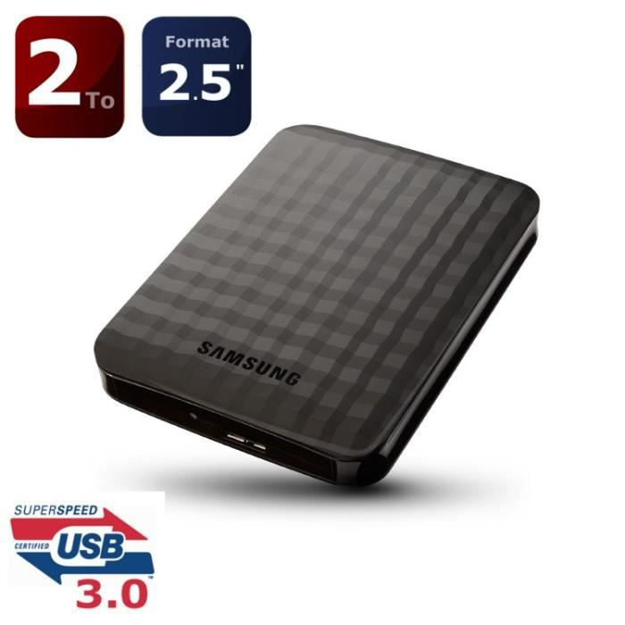 samsung disque dur externe m3 2to usb3 0 prix pas cher. Black Bedroom Furniture Sets. Home Design Ideas