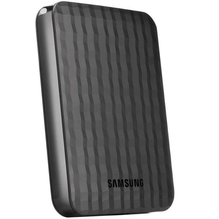Samsung m3 usb 3 0 slimline 500gb 2 5 external portable for Housse disque dur externe samsung m3