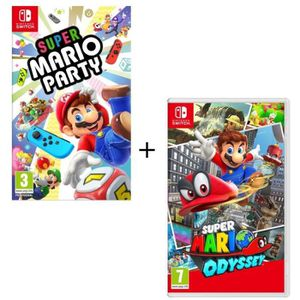 JEU NINTENDO SWITCH Pack  2 jeux Switch : Super Mario Party + Super Ma