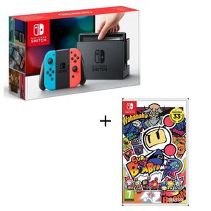 console nintendo switch achat vente console nintendo switch pas cher soldes d s le 10. Black Bedroom Furniture Sets. Home Design Ideas
