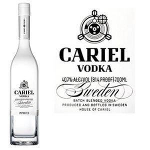 VODKA Vodka Cariel Batch blend 40.7° 70cl