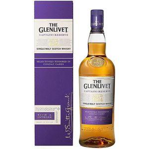 WHISKY BOURBON SCOTCH The Glenlivet - Captain Réserve - Single Malt Scot