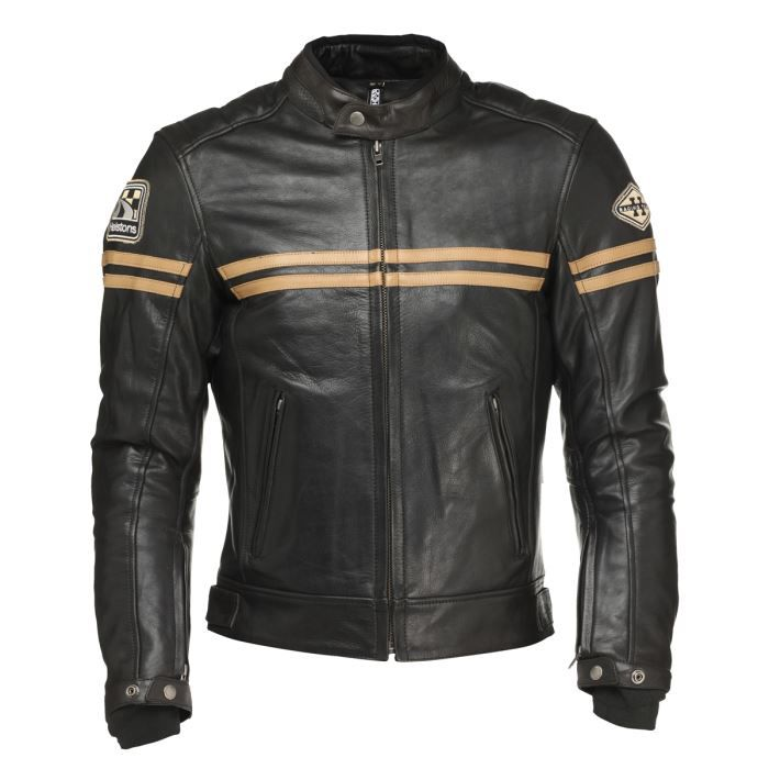 helstons blouson moto heritage cuir homme achat vente. Black Bedroom Furniture Sets. Home Design Ideas