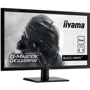 ECRAN ORDINATEUR Ecran PC Gamer - IIYAMA G-Master Black Hawk GE2288
